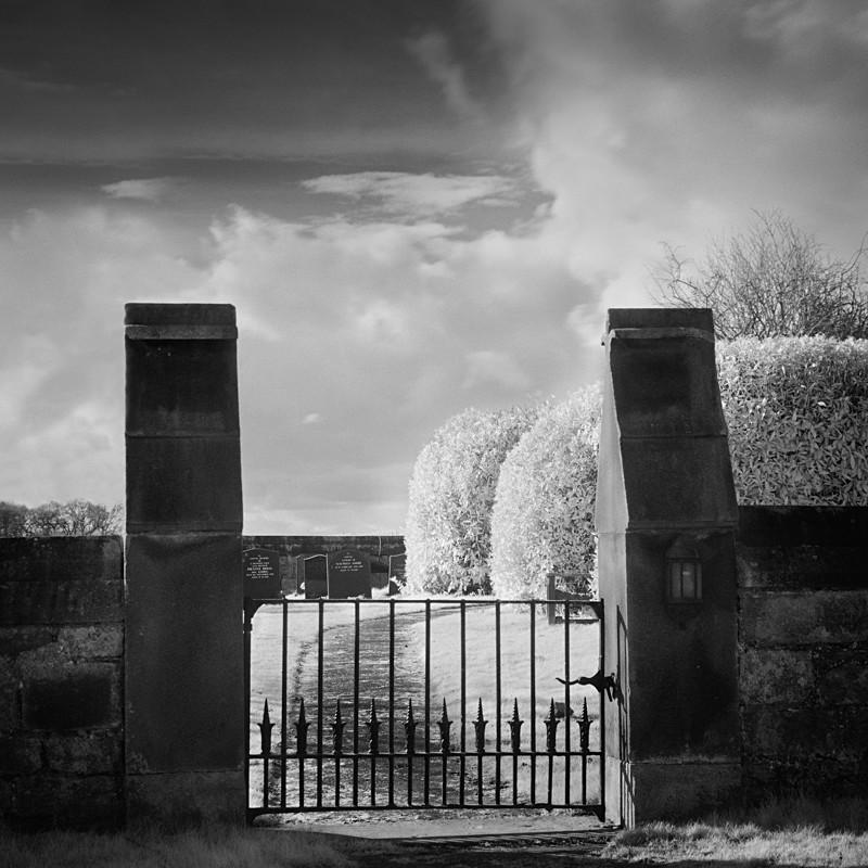 Entrance Gate,Infared - Infrared