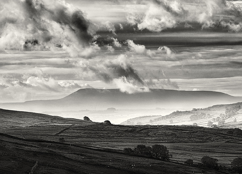 Storm over Pendle