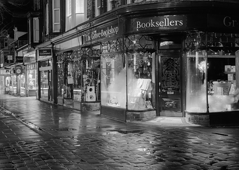 The Grove and Bookshop Ilkley - Otley and Ilkley at Night