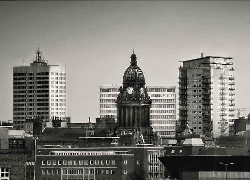 Leeds Town Hall Photograph
