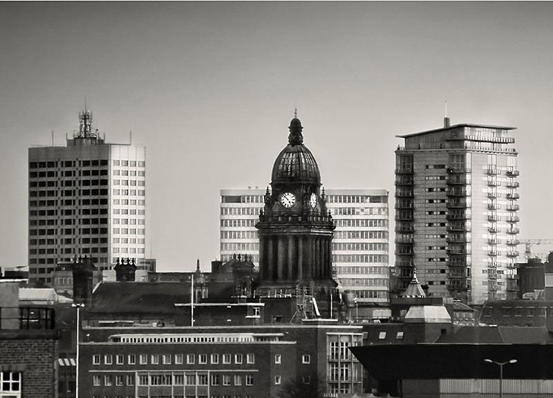 Leeds Town Hall Photograph