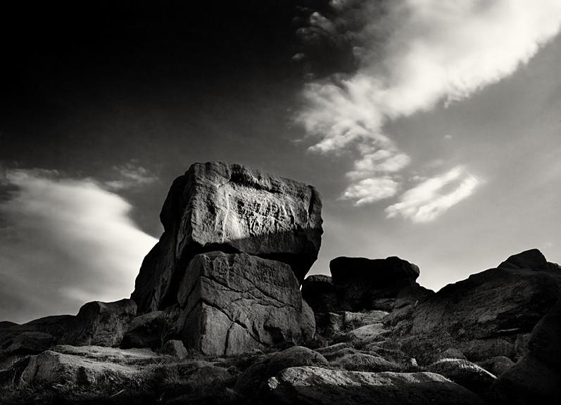 Tall Rock face