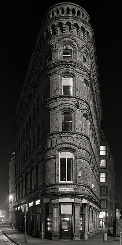 Panoramic Black and White by Martin Henson