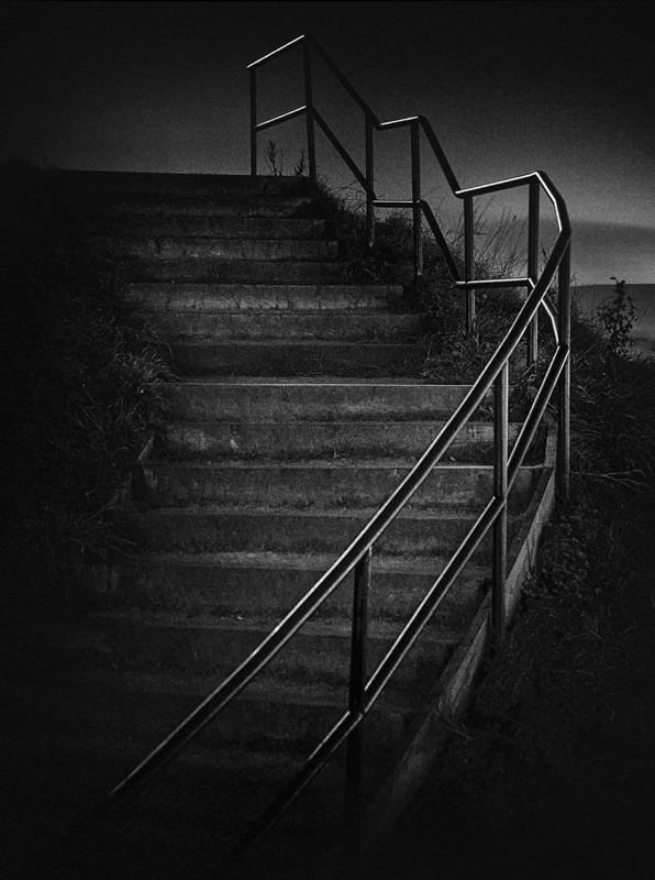Railings - Night Exposures
