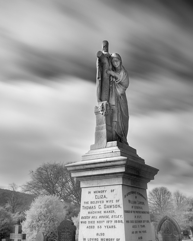 Statue in Infrared - Infrared