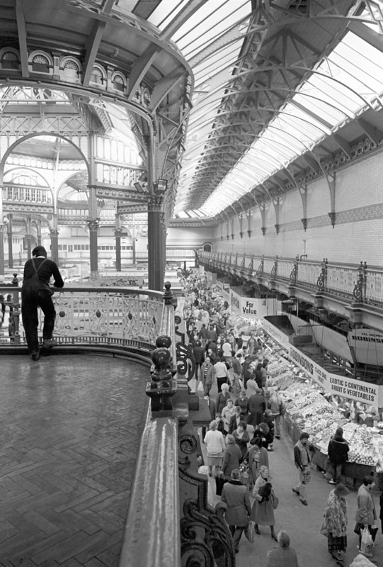 Leeds Market  1986