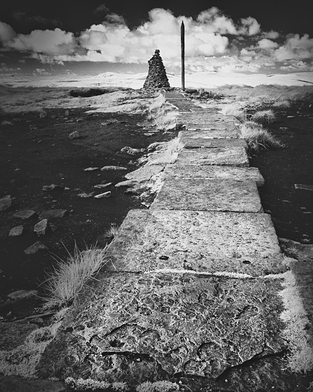 Buckden Pike Summit, Infrared - Infrared