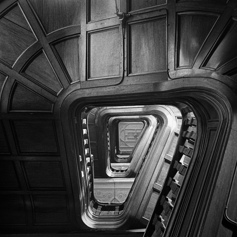 Stairs in Leeds Market