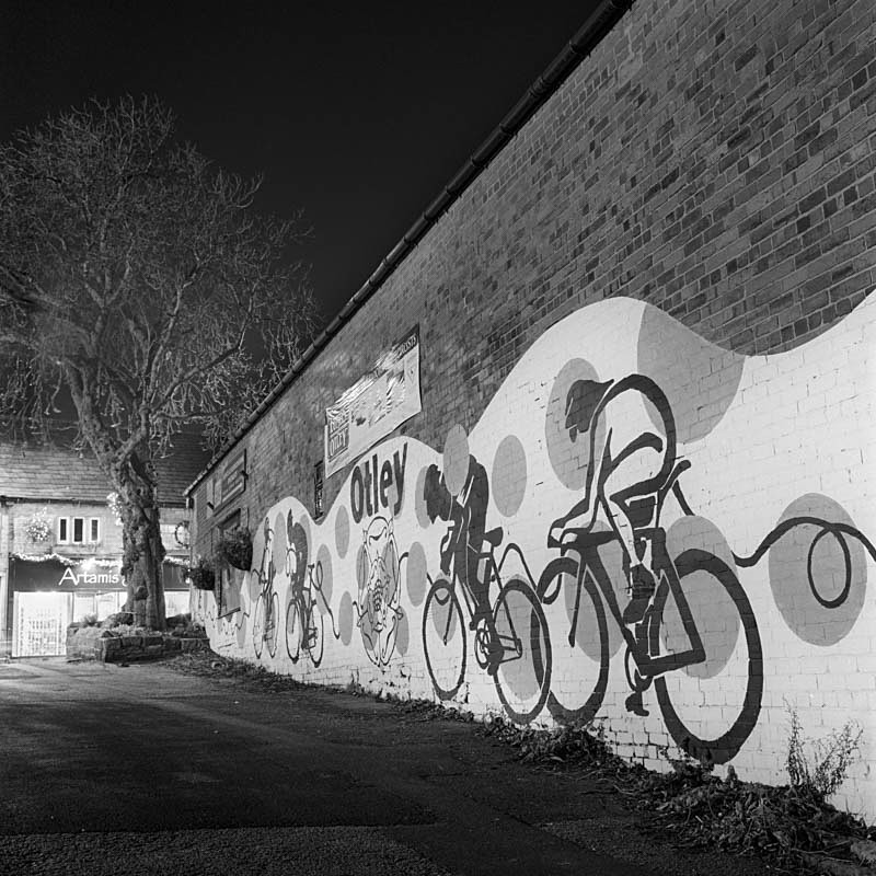Tour-de France comes to Otley 2014 - Night Exposures