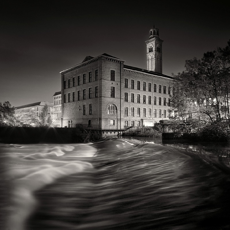 Salts Mill Weir