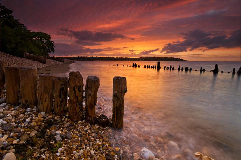z1633 Bembridge Beach - Seaview to Bembridge, Whitecliff Bay and Brading