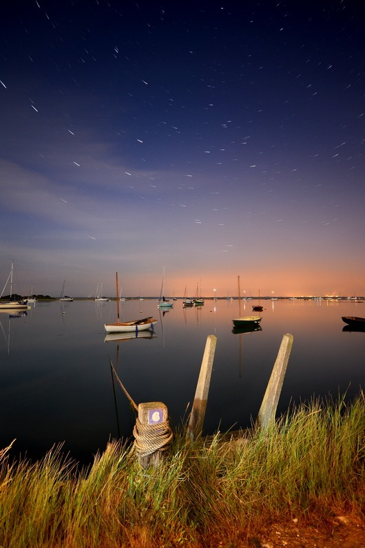 z2257 By the Light of the Stars, Newtown Creek - Yarmouth to West Cowes