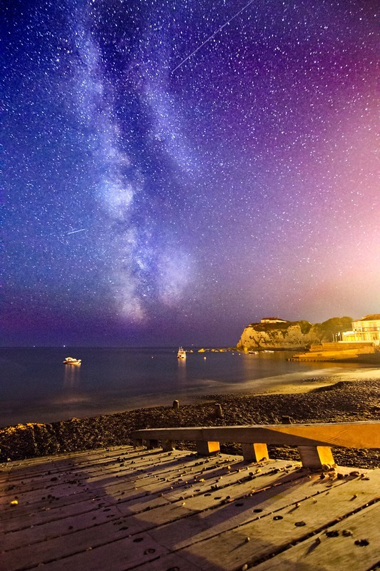 z2214 Milkyway over Freshwater Bay - Freshwater Bay to Colwell Bay
