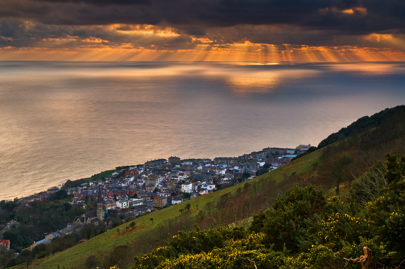 z1720 View from Ventnor Down - Ventnor to St Catherine's inc Bonchurch & Whitwell