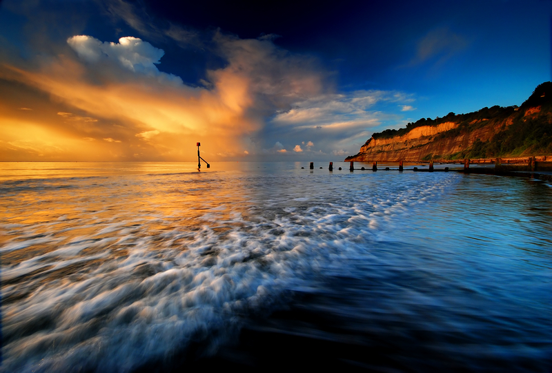 z1041 Storm Cloud, Shanklin chine - Sandown, Shanklin, Luccombe and Wroxall