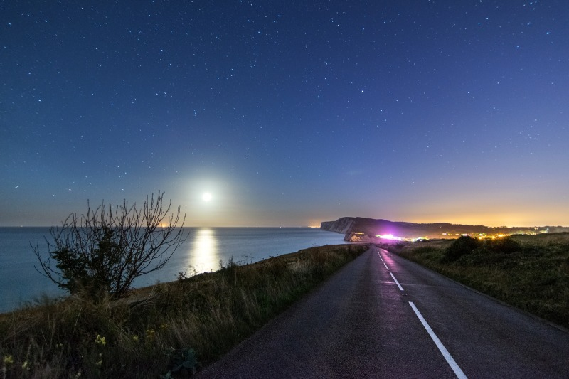 z2499 Road to Freshwater Bay by Moonlight - Freshwater Bay to Colwell Bay