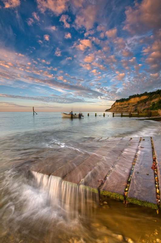 z1886 Summer Morning, Shanklin Chine - Sandown, Shanklin, Luccombe and Wroxall