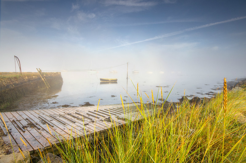 z2181 Mist on the Creek, Newtown - Yarmouth to West Cowes