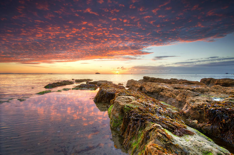 z2183 Sunrise, St Helens Beach - Seaview to Bembridge, Whitecliff Bay and Brading
