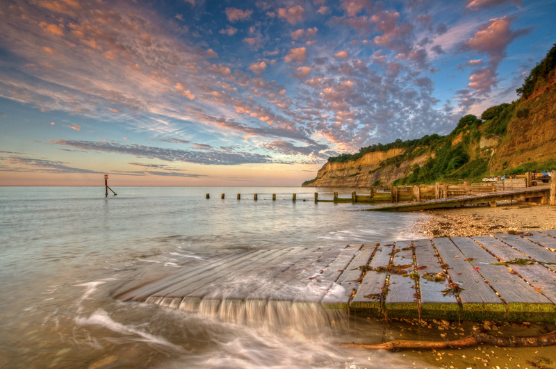 z1958 Morning Mellowness, Shanklin Chine - Sandown, Shanklin, Luccombe and Wroxall