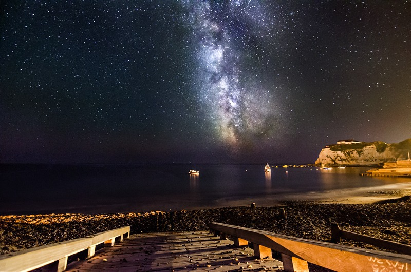 z2309 Milky Way over Freshwater Bay - Freshwater Bay to Colwell Bay