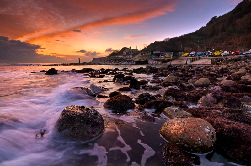 z1719 Sunset at Castle Haven - Ventnor to St Catherine's inc Bonchurch & Whitwell
