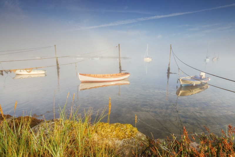 z2370 Mists of Springtime, Newtown Creek - Yarmouth to West Cowes