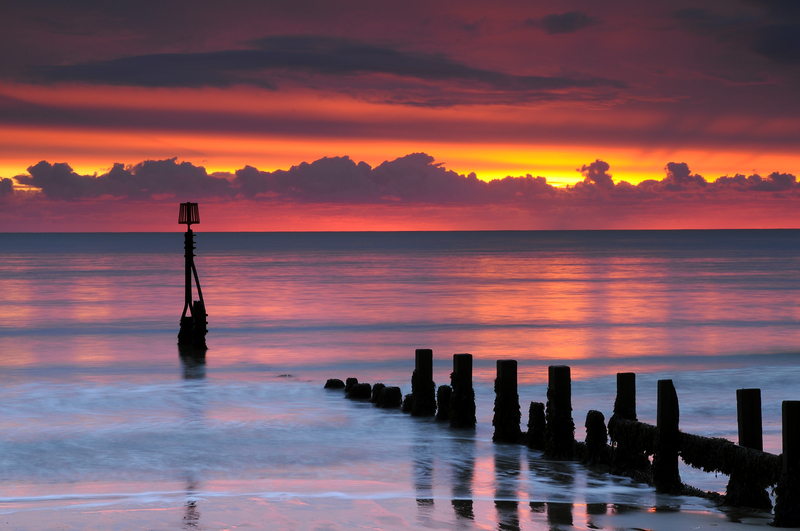 z2049  Sunrise, Shanklin Beach - Sandown, Shanklin, Luccombe and Wroxall