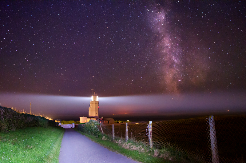 z2100 Under the Milky Way, St Catherines Lighthouse - Ventnor to St Catherine's inc Bonchurch & Whitwell