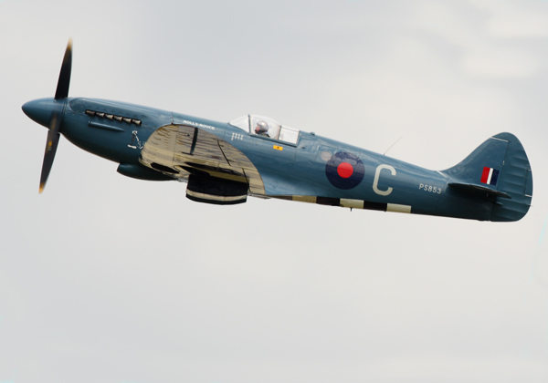 Blue Spitfire - Aviation