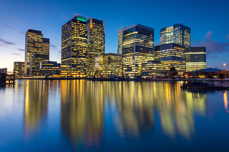 Canary Wharf London | Travel Photography