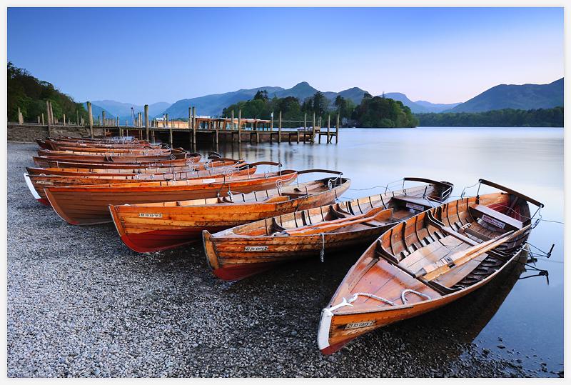 Derwent Water Lake District   Landscape Photography