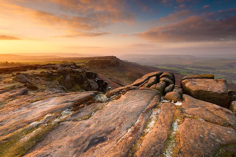 Curbar Edge Peak District | Landscape Photography