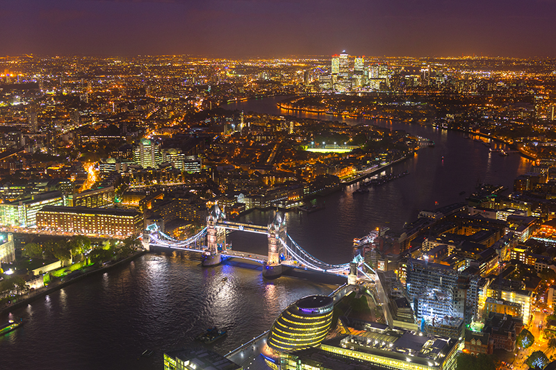 View from the Shard London | Travel Photography