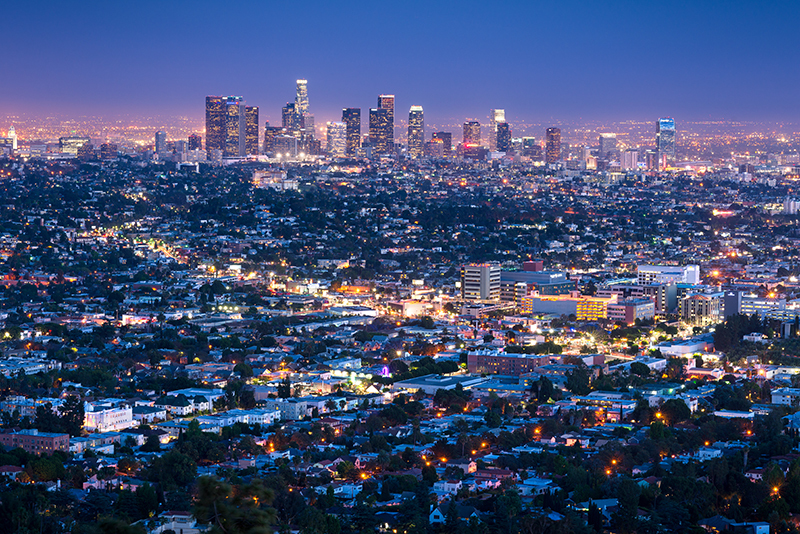 Los Angeles Cityscape Photography | Travel Photographer USA