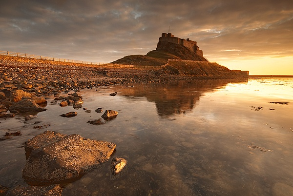 LINDISFARNE MORNING - FLOATING PANELS