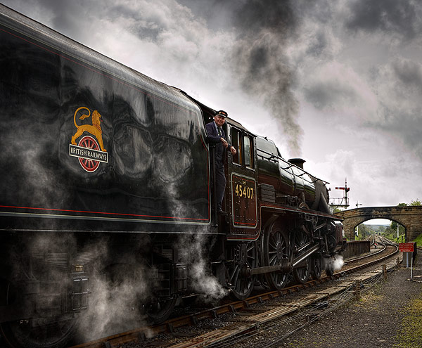 The Lancashire Fusilier - Iron and Steam