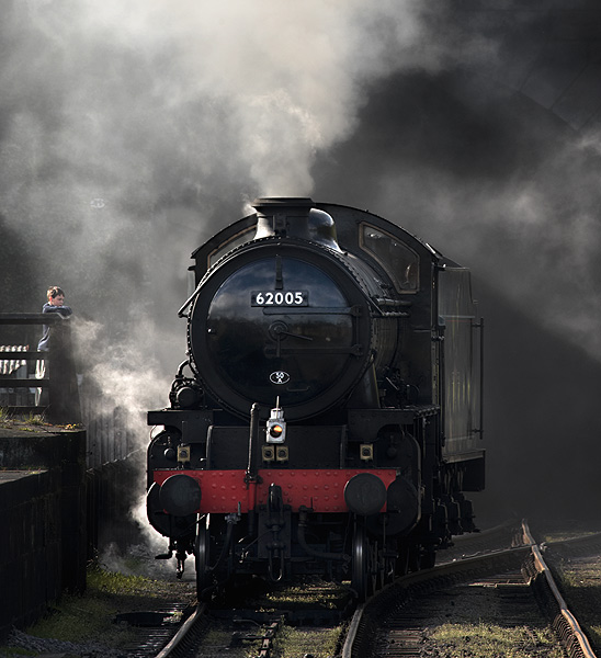 Boy meets Train - Iron and Steam