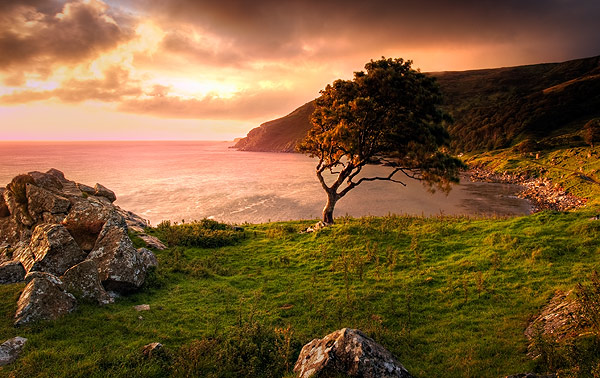 At Murlough Bay - Landscapes