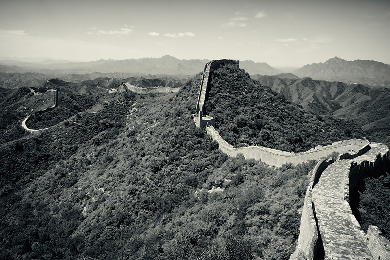 The Great Wall of China at Jinshangling, China