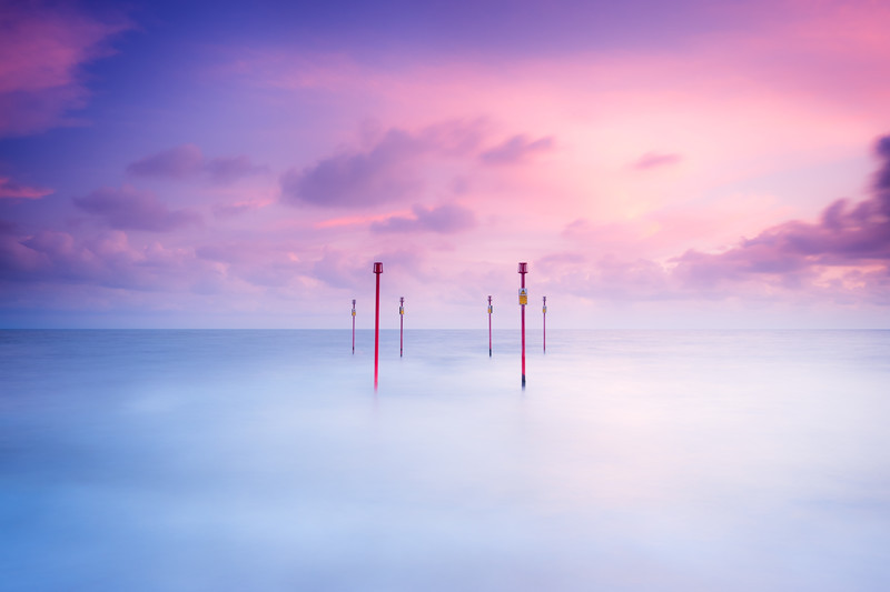 At Sunset - Seascape