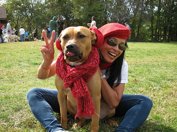 Hogie and Julie hamming it up. - Red Berets