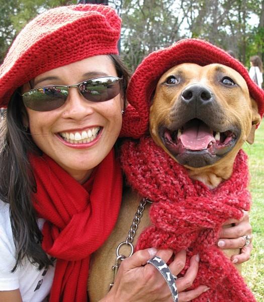 Julie & Hogie! - Red Berets
