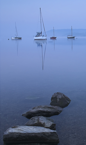 Tranquil Boats - The Lake District