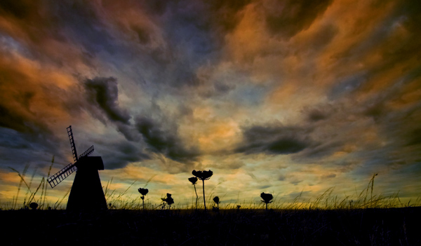 Rottingdean Windmill II - The South Coast of England