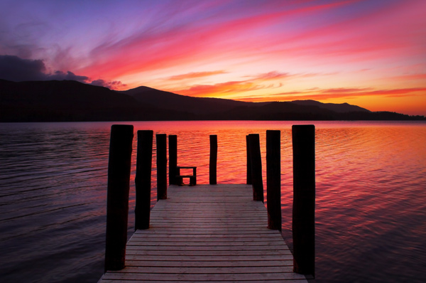 Tranquil Sunset - The Lake District