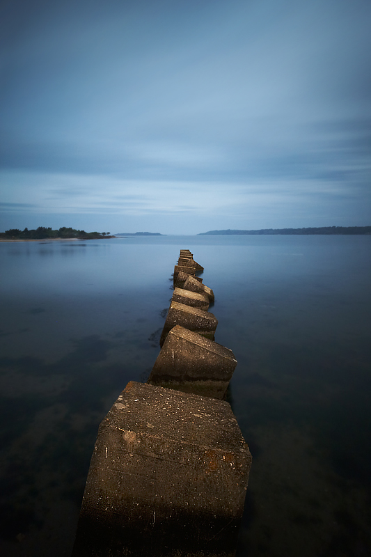 Studland Tank Traps - Hampshire, Dorset and Devon