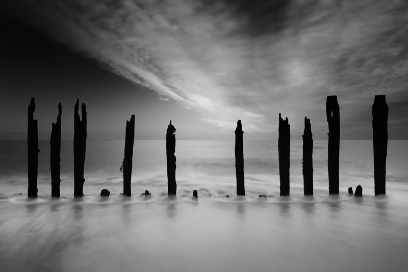 Pett Level Posts II - The South Coast of England