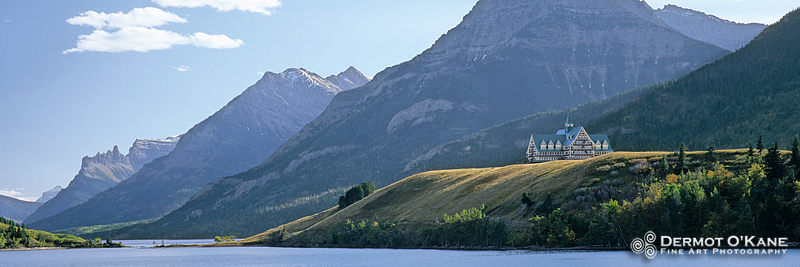 Prince Of Wales Hotel, Waterton - Panoramic Horizontal Images