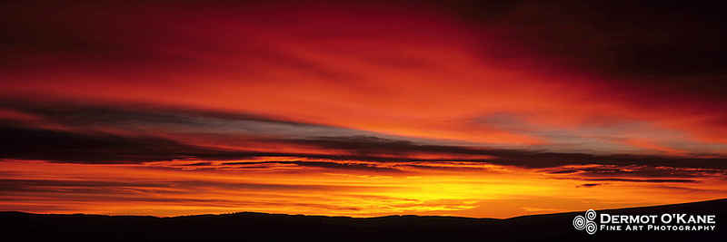 Alberta Sunrise - Panoramic Horizontal Images